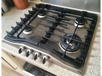 Zanussi ZGF 692 CX Four burner gas hob, good working condition
