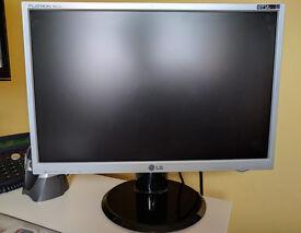 "22"" LG flatron computer monitor"