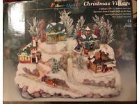 FIBER OPTIC CHRISTMAS VILLAGE