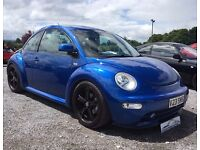 2002 Blue Volkswagen New Beetle 1.8t 20v Manual Petrol *Low Mileage*