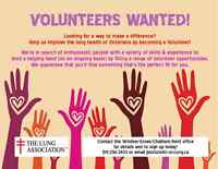 Volunteers Wanted!