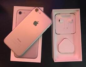 BOXED iPhone 7 silver 256GB