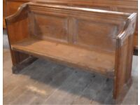 Georgian / Victorian Church Pew