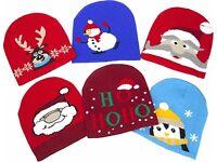 NEW Christmas Beanie Hats (choose design)