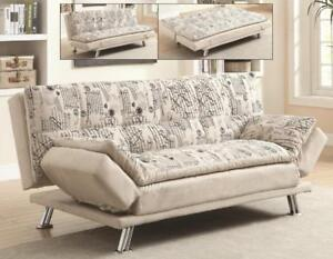 French fabric Sofa Bed (BD-1651)
