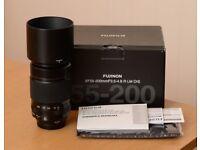 Fujifilm Fujinon XF 55-200mm F/3.5-4.8 OIS Lens - Boxed - Excellent Condition