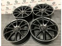 "BRAND NEW MERCEDES 20"" S63AMG STYLE ALLOY WHEELS -AVAILABLE WITH TYRES - 5 X 112 - SATIN BLACK"