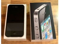 IPHONE 4 8GB O2 TESCO GIFFGAFF EXCELLENT CONDITION