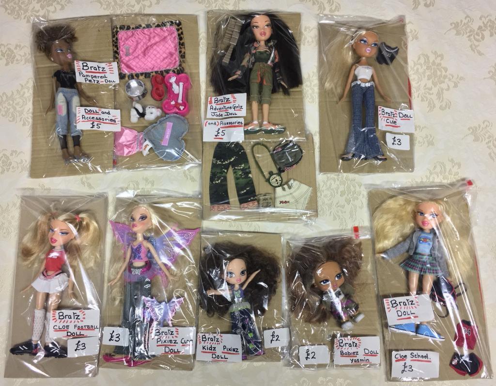 Various Bratz Dolls
