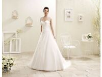 Stunning Italian Designer Wedding dress New with Tags