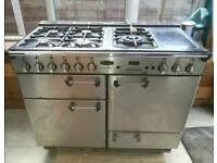 Rangemaster 110 5 burner all natural gas free standing cooker