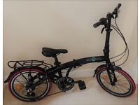 """Ecosmo 20"""" Lightweight Alloy Folding Bicycle"""