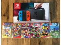 Nintendo Switch Neon + 1 x Top Game Choice - Perfect Condition - Lichfield