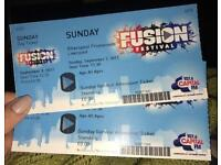 Fusion Festival Liverpool - 2x Sunday tickets