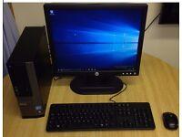Dell Optiplex 390 Intel Core i3 Computer , Windows 10, 500GB Hard disc, Microsoft office, etc
