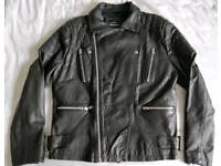 TopMan real leather jacket. Excellent condition.