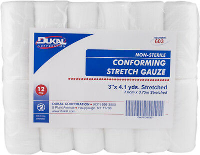 Dukal Conforming Stretch Non-Sterile Gauze 3