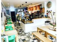 Coffee bar / cafè chef / cook needed for trendy coffee shop in East Finchley (opposite tube station)