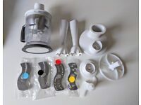 Braun MultiQuick Food Processor - attachments only