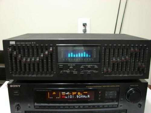 Sansui SE-8 / 10-Band Stereo Graphic Equalizer w/ Spectrum Analyzer