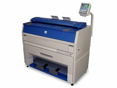 Kip 3100 Wide Format Plotter Printer Scanner And Copier
