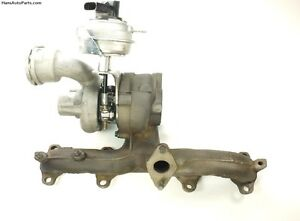 Rebuilt VW TDI Turbocharger 02-06 Jetta Beetle Golf BEW Turbo with Actuator