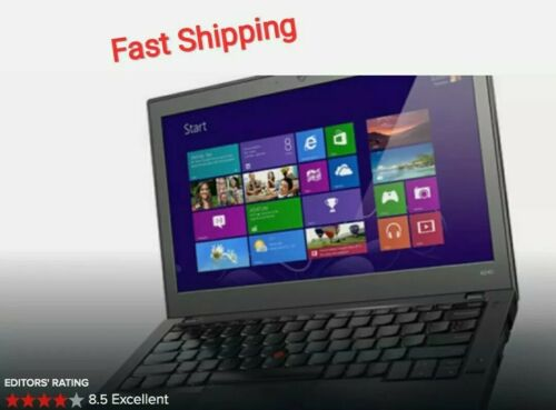 Laptop Windows - Lenovo Thinkpad X240 Core i5 Turbo 2.9Ghz 8GB Ram 2TB SSD Windows 10 Laptop