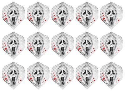 5 New Sets Winmau Embossed Standard Dart Flights – Scream