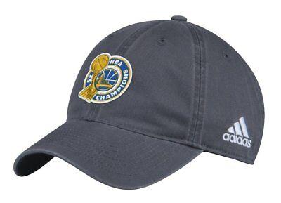 Golden State Warriors Adidas 2017 Nba Finals Champions Adjustable Hat Cap