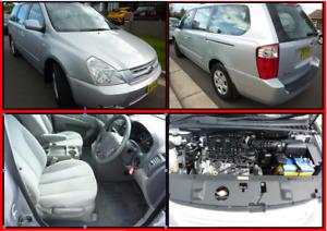 2008 KIA GRAND CARNIVAL AUTOMATIC VERY CLEAN V6 REGO/PPSR Smithfield Parramatta Area Preview