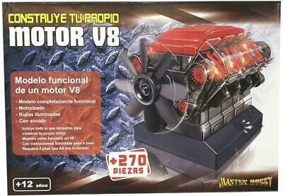 Maqueta Motor V8 Motorizado con Luz y Sonido. Kit de sonido. Kit...