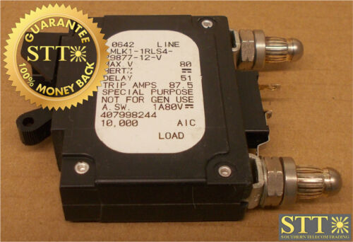 Lmlk1-1rls4-29877-12-v  Airpax 70 Amp Alm Bullet Breaker