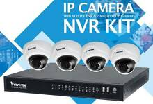 Vivotek IP Security Camera x4 Domes and Recorder Bundle – New Kardinya Melville Area Preview