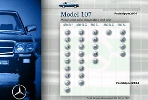 Mercedes-Benz-107-Service-Repair-Manual-380SL-380SLC-450SL-450SLC-560SL-Cars-CD
