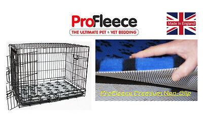 "ProFleece Premium 1200gsm Non-slip Pet Vet Bed (24"" to 48"" crates)"