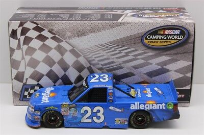 CHASE ELLIOTT #23 2017 ALLEGIANT MARTINSVILLE WIN 1/24 NEW IN STOCK FREE SHIP