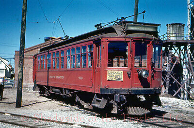 Pacific Electric PE Interurban Coach #960 DUPLICATE Slide Tram