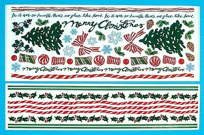 Home for the Holidays and Christmas Borders Stickers Printworks 2 sheets ()
