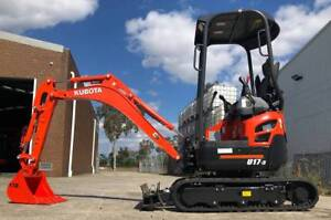 Kubota U17-3 Mini Excavator Kewdale Belmont Area Preview