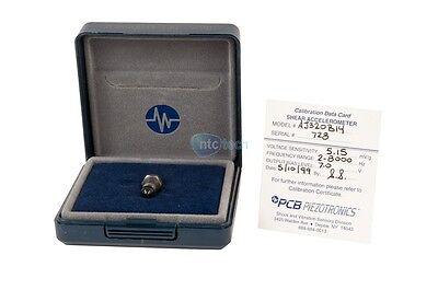 Pcb Piezotronics Aj320b14 Accelerometer Calibration - 340b14