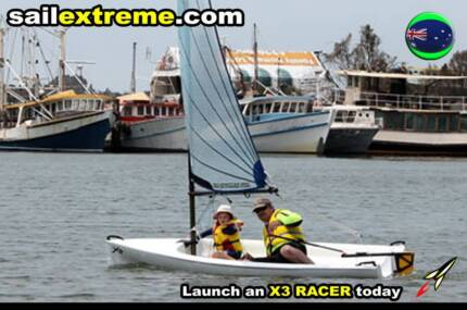 X3 R sailing dinghy