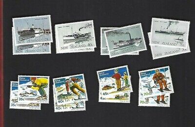 New Zealand sc#795-802 x2 (1984) Complete MNH