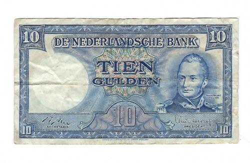 Netherlands -  10 Gulden