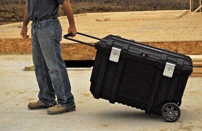 Husky 37 In. Rolling Tool Box Utility Cart Black