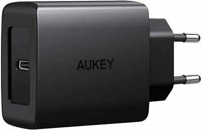 AUKEY USB C Chargeur Secteur avec Power Delivery 3.0 18W Chargeur