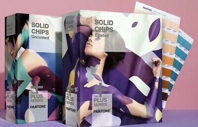 New Pantone Solid Chips Two Color Book Set - Gp1606n