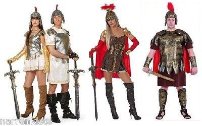 Römer Kostüm Kleid Gladiator Römerin Spartacus Legionär Zenturio Feldherr Soldat