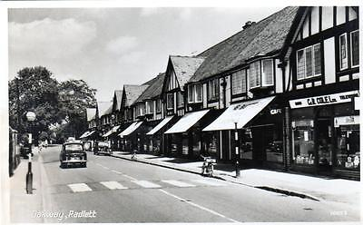 Radlett Oakway Nr St Albans unused RP old postcard  Photo Precision