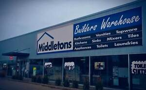 MIDDLETONS BUILDERS WAREHOUSE END OF WINTER SALE! Thomastown Whittlesea Area Preview