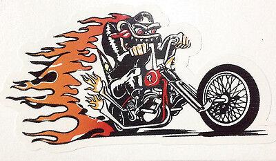 RAT ROD HOT ROD CHOPPER RAT FINK   DECAL STICKER  TOOLS POT 420 MOTORCYCLES